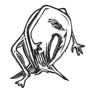 Shrimft (gravure sur lino)
