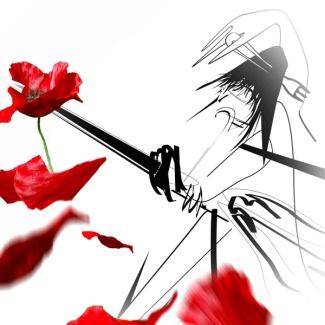 Paréïdolie - samuraï