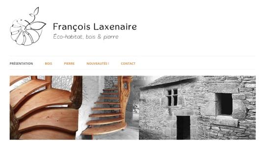 Logo et bannière pour le site web d'un éco-artisan