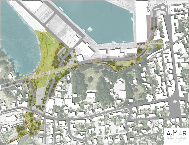 Plan masse- projet_A-mar paysage