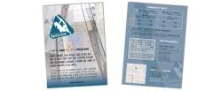 Flyer pour l'association Quimper Escalade (GDO) Format A5